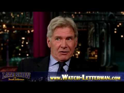 Harrison Ford exclusive on David Letterman - 1/21/2010 Part 3 - Blind Boys of Alabama with Lou Reed