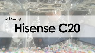 Hisense C20: unboxing y primeras impresiones