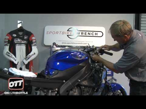 Performance Upgrades YZF-R6 Installing Forks