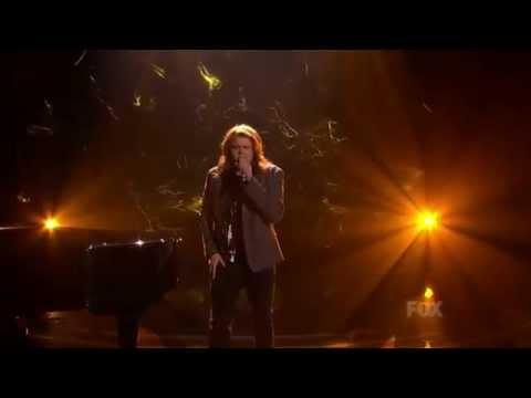"""Caleb Johnson Performs Paul McCartney's """"Maybe I'm Amazed"""""""