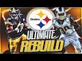 JuJu Smith-Schuster Is Better Than Antonio Brown?! | Pittsburgh Steelers Ultimate Rebuild -- Ep 19