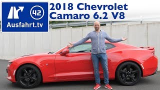 2018 Chevrolet Camaro 6.2 V8 MT6 (MY2018) - Kaufberatung, Test, Review