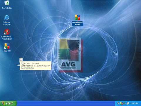 AVG Internet Security 9 beta:  Part 1