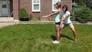 Backhandspring Tutorial: How to do a back handspring