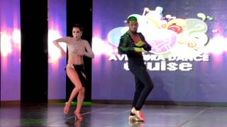 Robert Rosario & Isabel Freiberger at Aventura Dance Cruise 2015