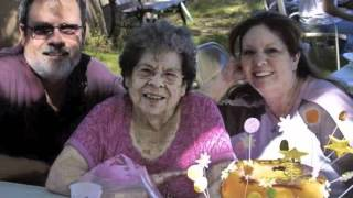 Memory of Grandma Hazen. with the songs Homesick by MercyMe and Bye Bye from Mariah Carey