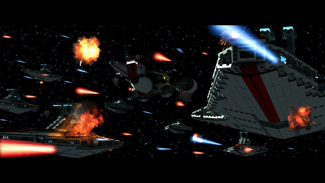 lego star wars the search ii space battle teaser brickfilm english youtube. Black Bedroom Furniture Sets. Home Design Ideas