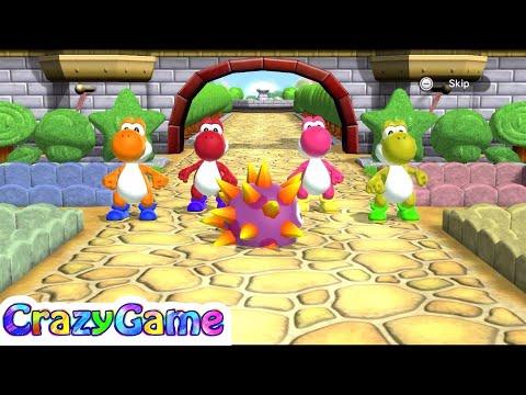 Mario Party 9 Garden Battle #9 Team Yoshi Gameplay (Master CPU)