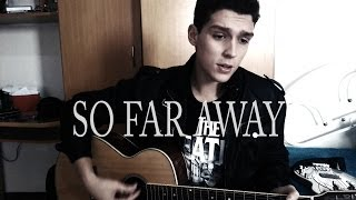 Avenged Sevenfold - So Far Away (Guitar and Vocal cover)