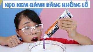 Làm Kẹo Gum Kem Đánh Răng Khổng Lồ