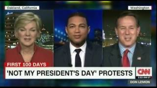 Not my President's Day Protests