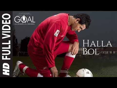 Halla Bol Song (film Version) Dhan Dhana Dhan Goal | John Abraham video