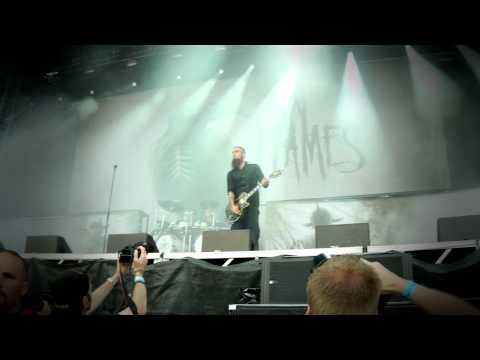 In Flames - Intro + Cloud connected (Live at Sonisphere Festival in Stockholm, Sweden 2011)