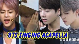 20 Minutes of BTS Singing Acapella (Vocal Team | 방탄소년단)