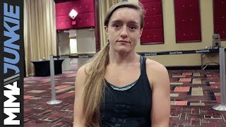 Aspen Ladd discusses her canceled fight at UFC Atlantic City