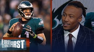 Philadelphia Eagles were never going to be a dynasty — Brandon Marshall | NFL | FIRST THINGS FIRST