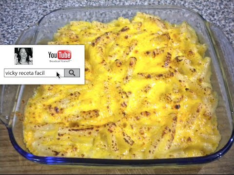 MACARRONES CON QUESO | MAC AND CHEESE | RECETA FACIL