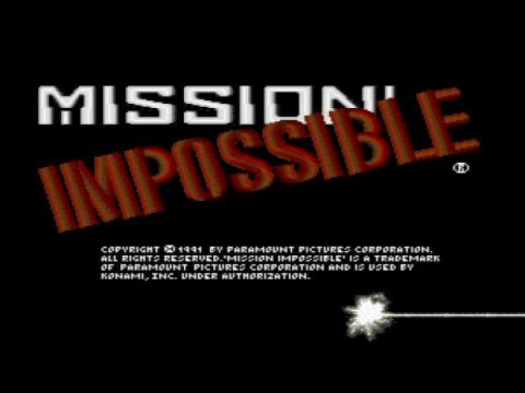 Mission: Impossible - 1991 PC Game, introduction and gameplay