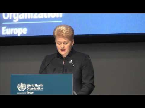 Speech by Mrs Dalia Grybauskaitė, President of Lithuania