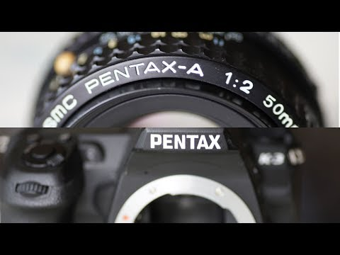 Using Old Pentax Lenses on Newer Pentax Cameras: K-30, K-5II, K-5IIs