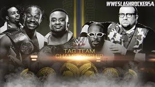 WWE Night Of Champions 2015 Match Card