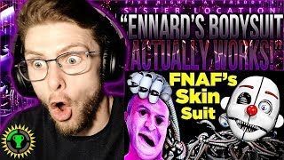 "Vapor Reacts #862 | FNAF SL GAME THEORY ""Ennard's Bodysuit ACTUALLY Works!"" Game Theorists REACTION!"