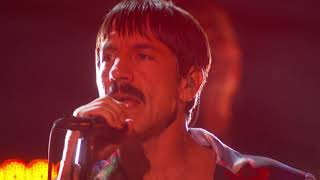 Post Malone Red Hot Chili Peppers Stay Rockstar Dark Necessities Live At The 61st Grammys