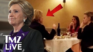 Hillary Clinton Has An Interesting Dinner Date I TMZ LIVE