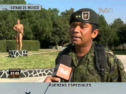 Preparación de las Fuerzas Especiales del Ejército Mexicano