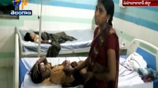 Father Gives Poison to His Daughters   Mother Making Allegations   Mahabubabad Dist