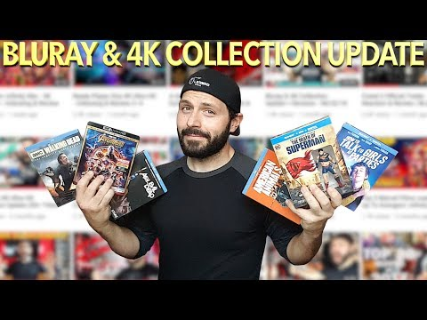 Awesome Bluray & 4K Ultra HD Collection Update + Reviews (08/13/18)   BLURAY DAN
