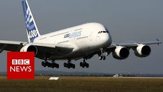 Why the A380 never really took off - BBC News