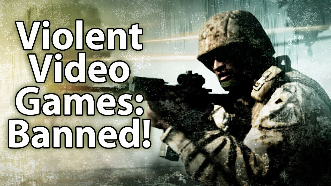 violence in video games should be censored essay Many people believe that violent video games should violent gaming then he might think that violence in real life is the same as the game violence.