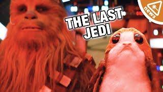 Could Star Wars The Last Jedi's True Heroes Be the Porgs? (Nerdist News w/ Jessica Chobot)