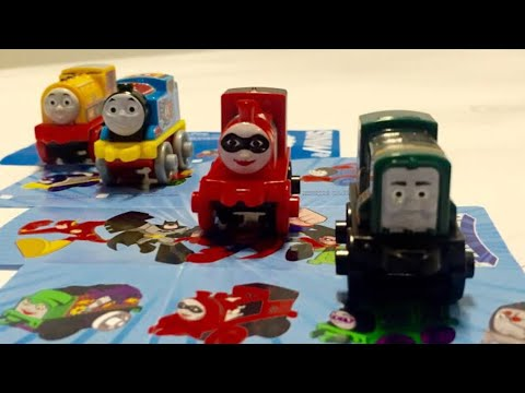 Thomas and Friends Minis Wave 4 Blind Bags Part 1