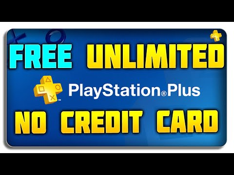 How to get FREE Unlimited PSN Plus! (PS3/PS4) - Dualux3