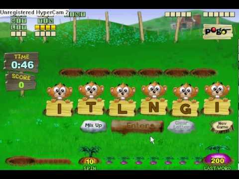 pogo games free online games word whomp