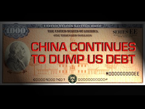 China Continues To Dump US Debt - Mike Maloney's Daily News Brief