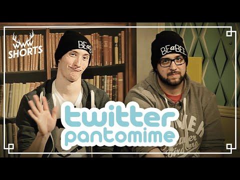 TWITTER-PANTOMIME mit BrokenThumbsTV | TWIN.TV
