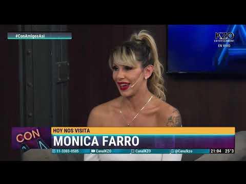Mónica Farro en Con amigos así - Entrevista completa