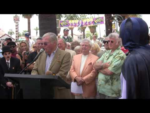Adam West - Palm Springs Walk of Fame Ceremony Video