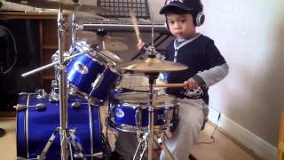 Download Lagu System Of A Down - Chop Suey drum cover, 4-Year-Old Drummer Gratis STAFABAND