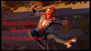 Marvel's Spider Man EP#3 O novo uniforme