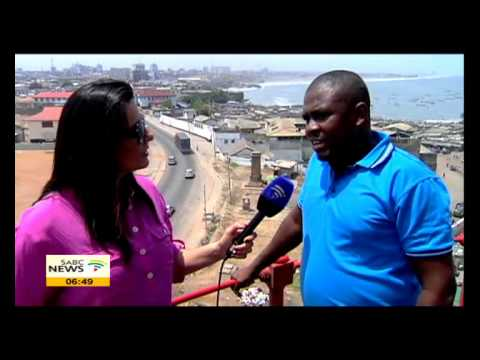 Leanne Manas visits tourism attractions in Accra