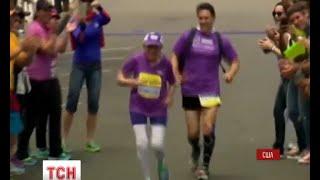 92-річна американка встановила рекорд, здолавши марафонську дистанцію - (видео)