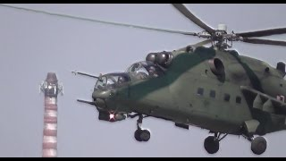 Mi-24 Helicopter.