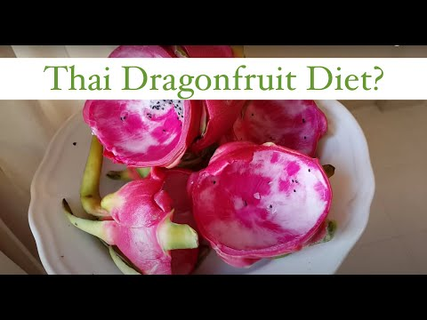 Thai Dragonfruit Breakfast to LOSE WEIGHT