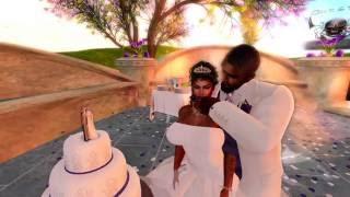 Duke & Xena Second Life Wedding - 7.30.16