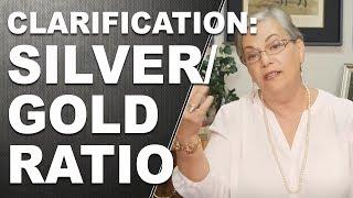 CLARIFICATION: Silver/Gold Ratio (Function Vs Fiat)