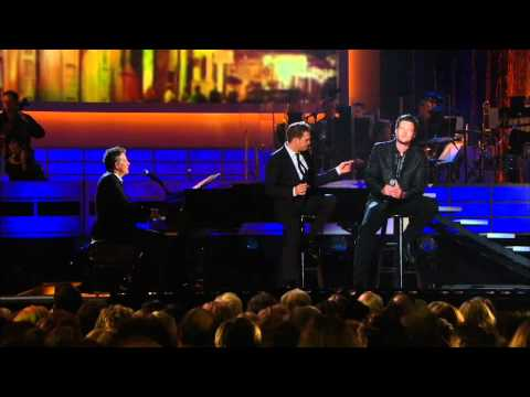 Michael Buble and Blake Shelton - Home  ( Live 2008 ) HD Music Videos